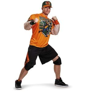 NEW Disguise Men's WWE John Cena Muscle Costume